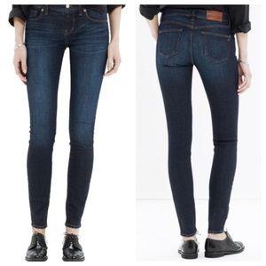 Madewell Skinny Skinny Jeans In Waterfall Wash